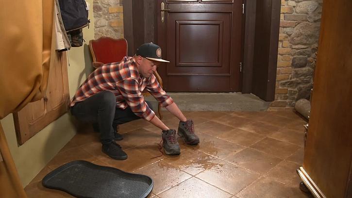 Mokré a špinavé boty