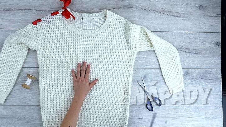 Rukavice ze svetru