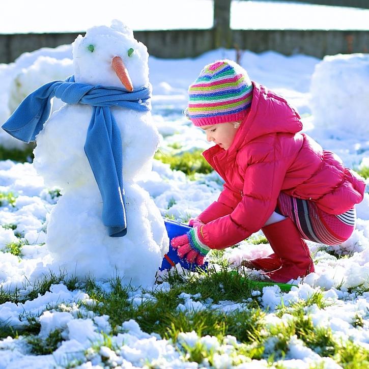 Málo sněhu značí málo úrodný rok