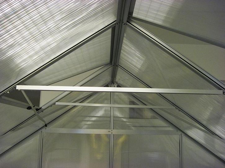 Problém může být s vlastní konstrukcí skleníku: