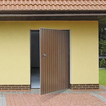 Vjezd do garáže chrání kvalitní vrata
