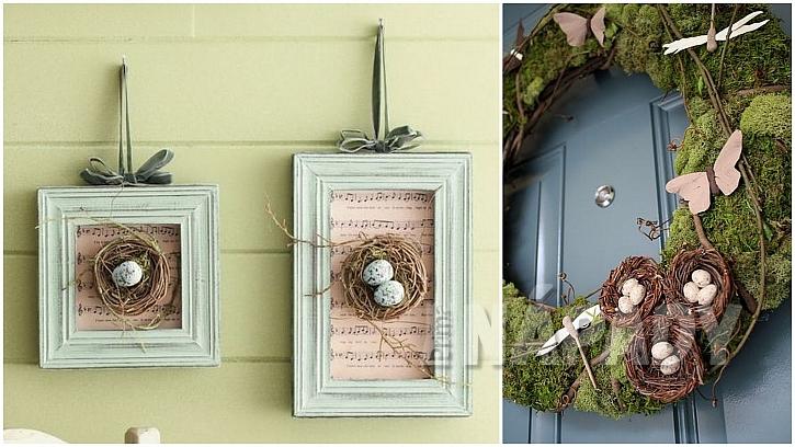 Jarní dekorace na stěny i dveře