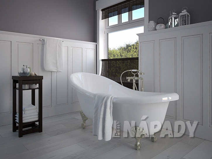 Výběr vany dá tvář vaší koupelně (Zdroj: Depositphotos.com)