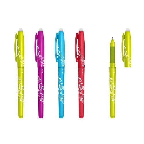 MFP kuličkové pero Wizard 0,7 modré, gumovací