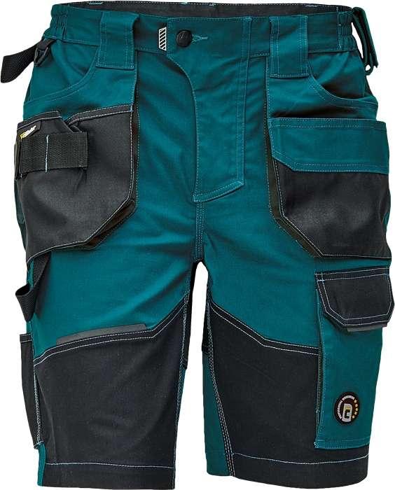 Zelené pracovní šortky DAYBORO