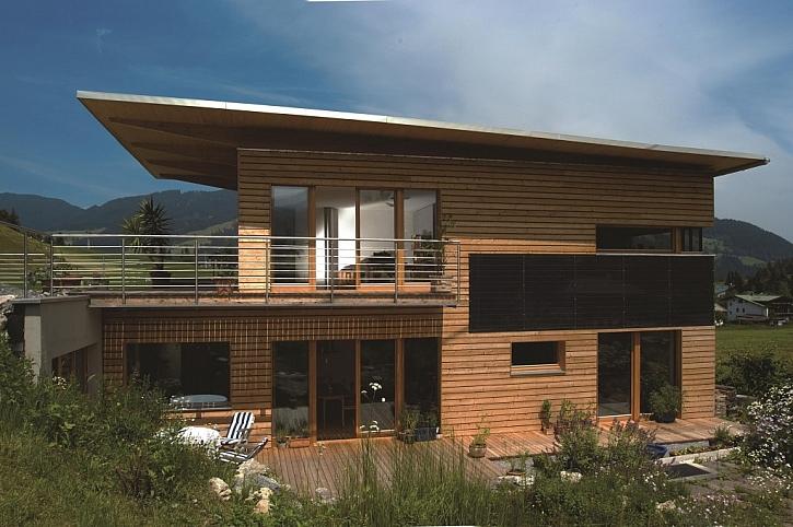 Dřevěné fasády jsou v trendu