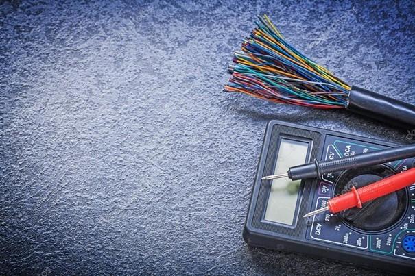 Ampérmetr, kabely