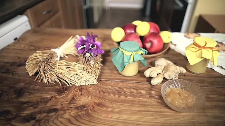 Zázvorovo-jablečná marmeláda