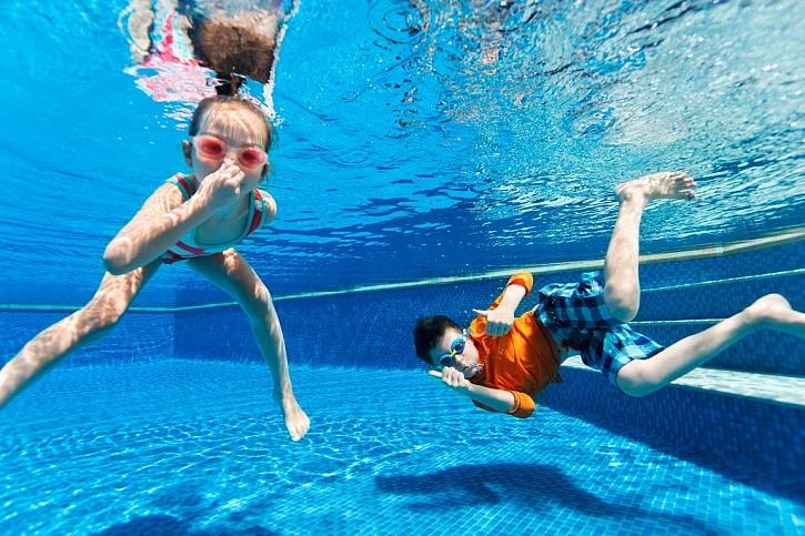 Potápění se pod hladinu musí být bezpečné a v prověřeném prostředí