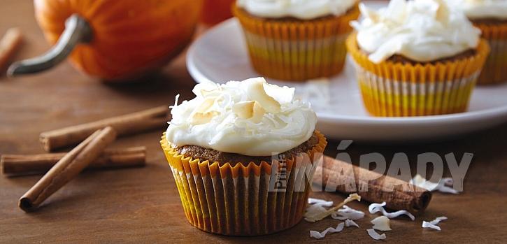 Sladké strašidelné dýně, na kterých si pochutnáte: dýňové muffiny