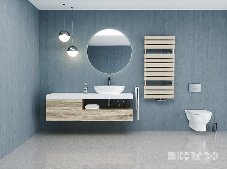Nový radiátor do koupelny AQUAPANEL oslňuje jedinečným designem