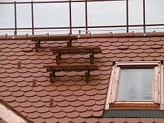 Jak postupovat při montáži stoupací plošiny do konstrukce střechy?