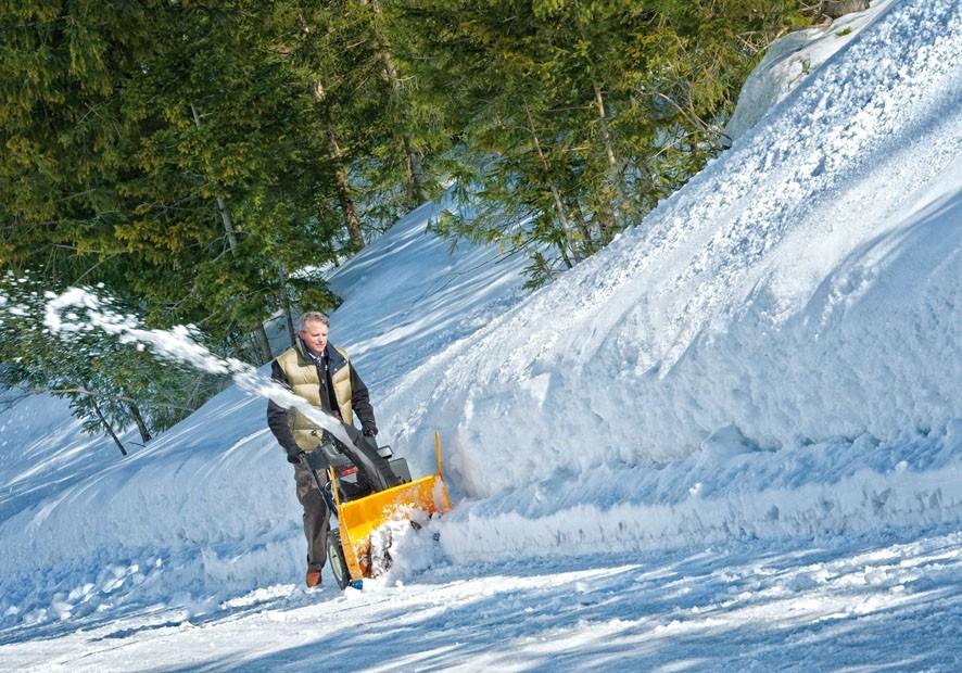 Snadný život se sněhovou frézou