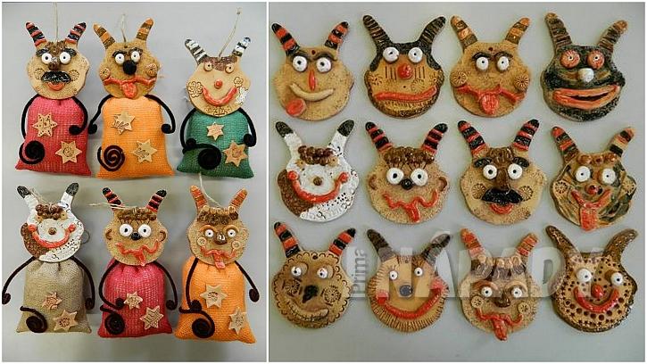 Čertíci z keramiky