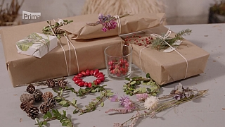 Přírodní balení dárků