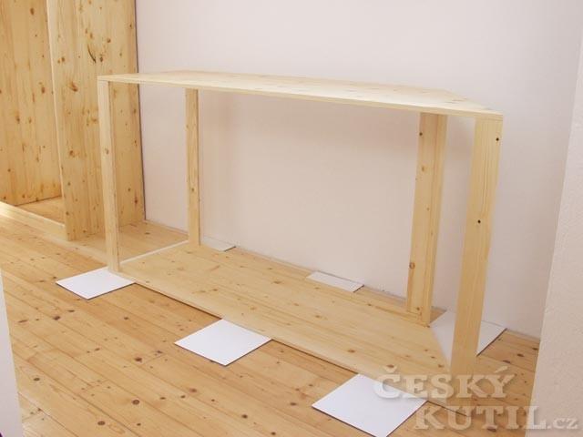 Šatní skříň v podkroví - 1. díl