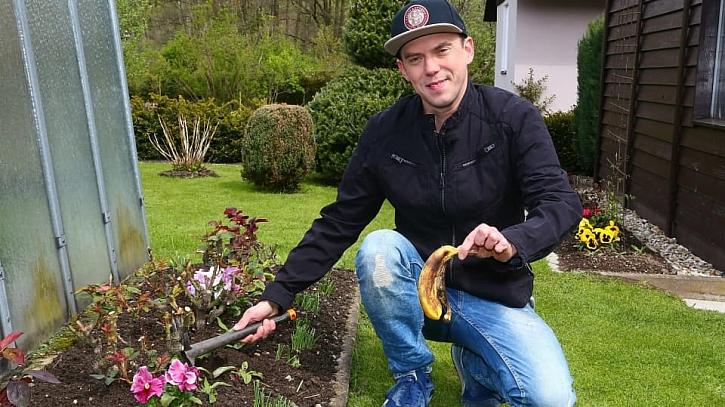 Jak zatočit se mšicemi: Zahrabte do záhonu slupku od banánu 1