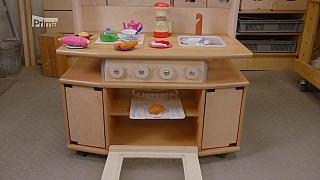 Výroba dětské kuchyňky