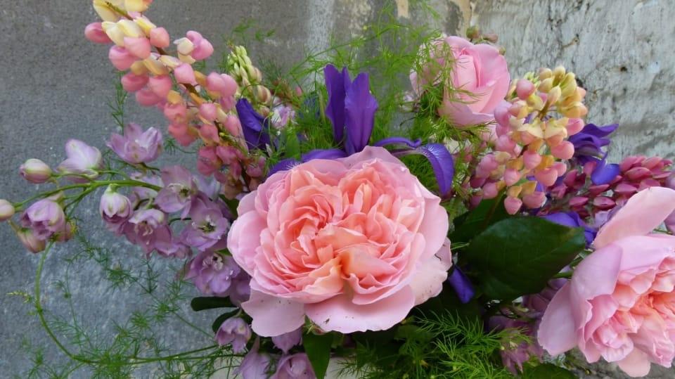 Voňavá červnová kytice: Všechny barvy duhy