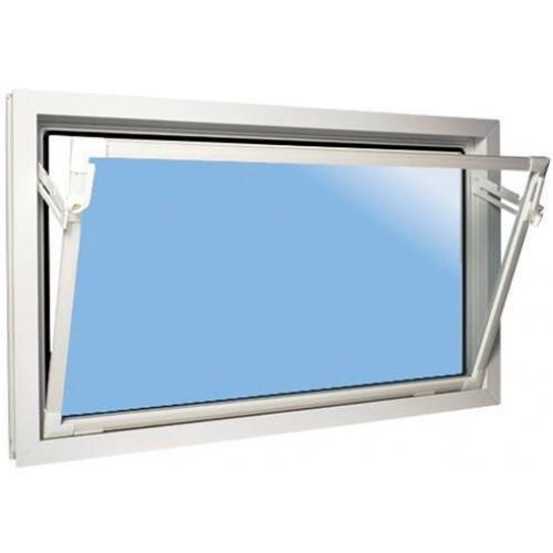 ACO sklepní celoplastové okno s IZO sklem 120 x 60 cm bílá