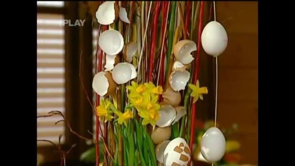 Návod na velikonoční dekoraci