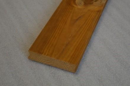 Hladká terasová prkna z thermoborovice 26 × 115 mm