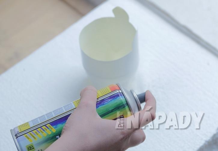 Jak vyrobit z PET lahve roztomilý květináč 2