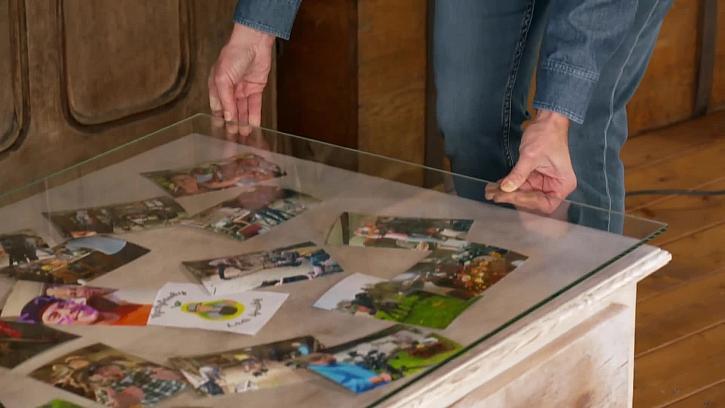 Položení skleněné tabule