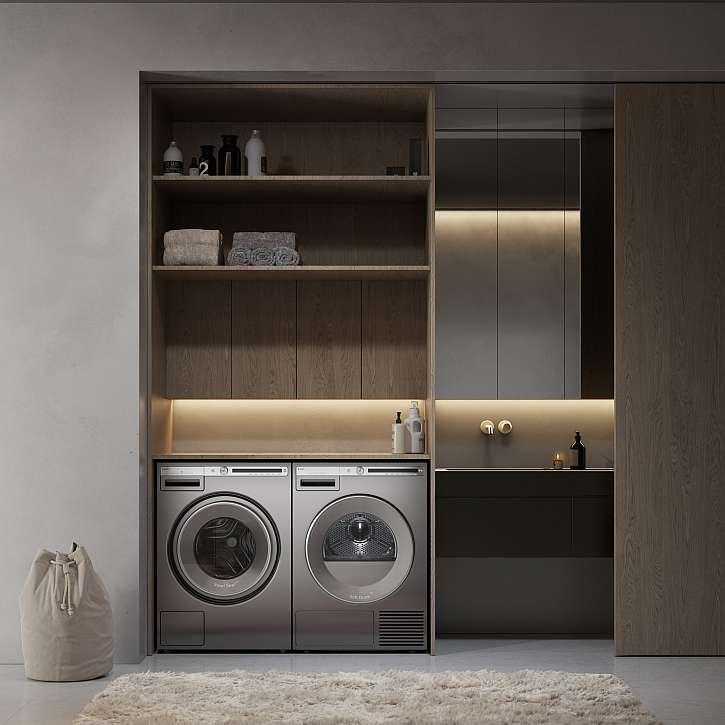 Pračka má unikátní buben a dvě trysky jako v profesionálních spotřebičích