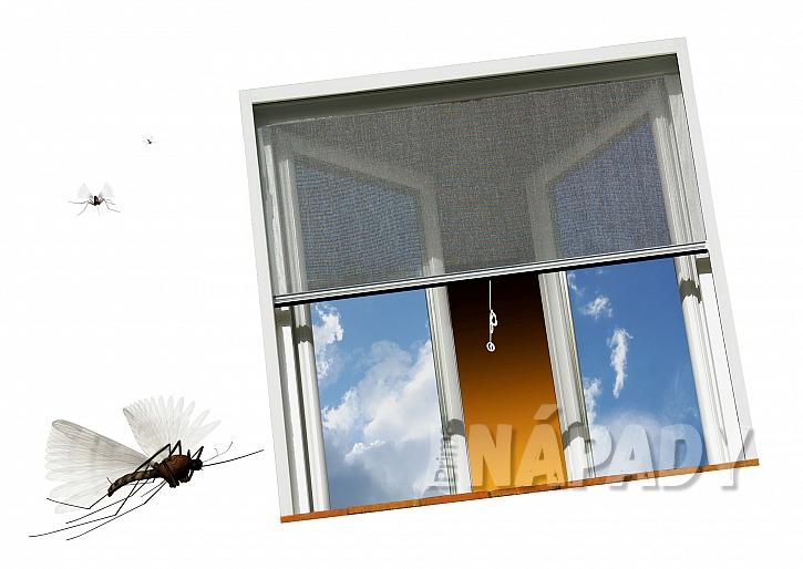 Rolovací síť proti komárům