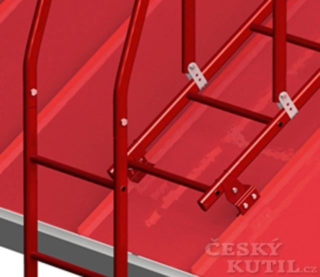 Bezpečnostní systém Lindab Safety: žebříky