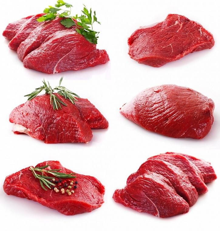 Zadní maso je využitelné na plátky, roštěnky nebo steaky