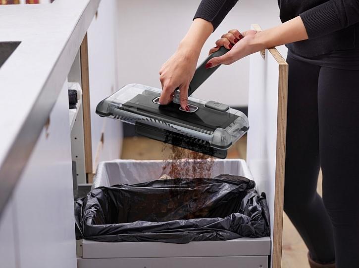 Elektrické zametače pro rychlý úklid podlah