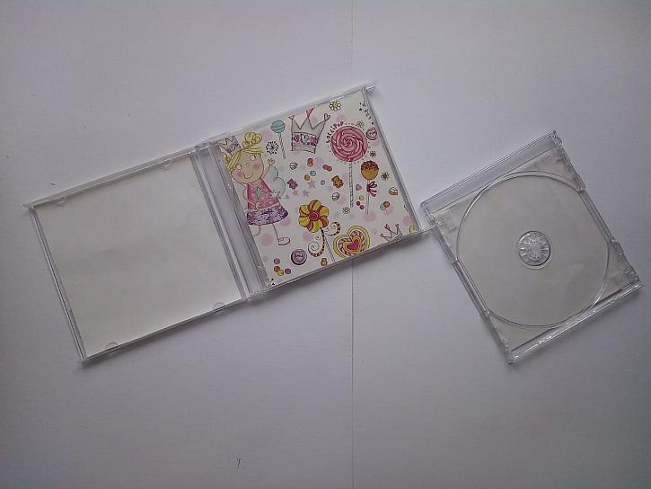 Obaly na CD s polepem