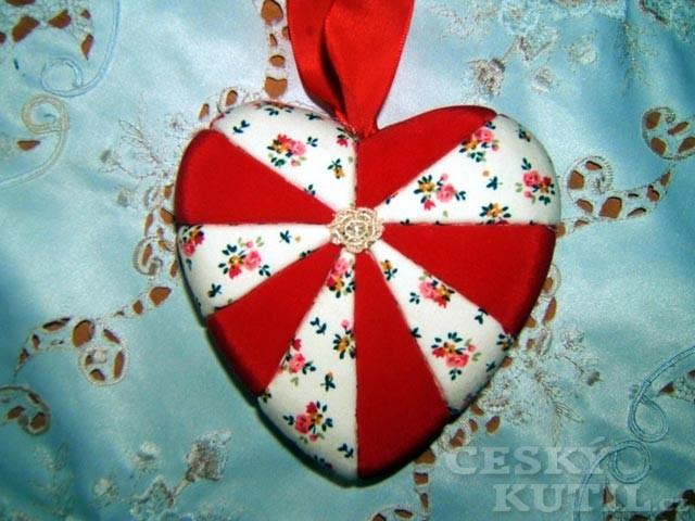 Vánoční inspirace od čtenářky - ozdoby technikou patchwork