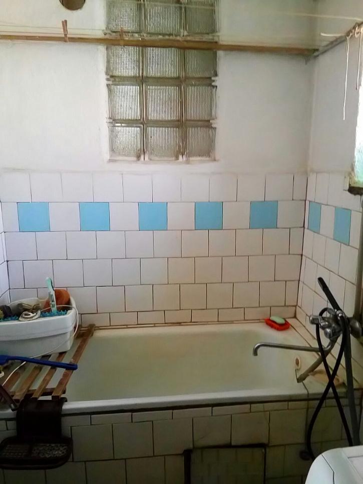 Koupelna volající po rekonstrukci