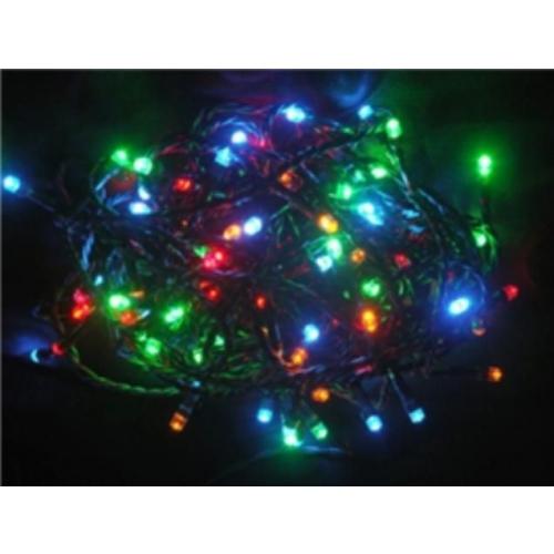 Vánoční osvětlení 180 LED - BAREVNÉ / 18LED bliká , 24V IP44
