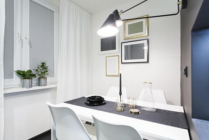 Nová koupelna, chodba a kuchyně v bytě v Ústí nad Labem