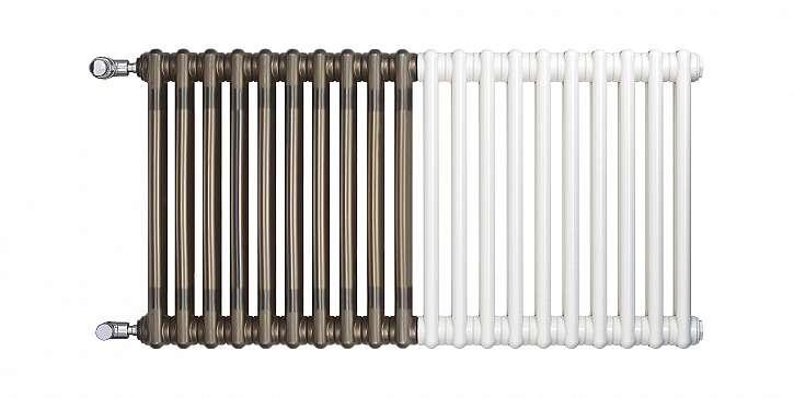 Dvoubarevný radiátor