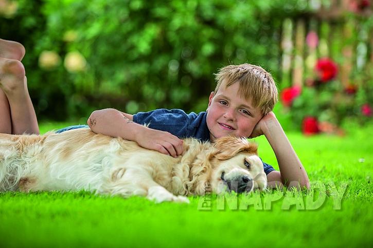 Na pěkném trávníku je radost poležet! (Zdroj: archiv Neudorff)