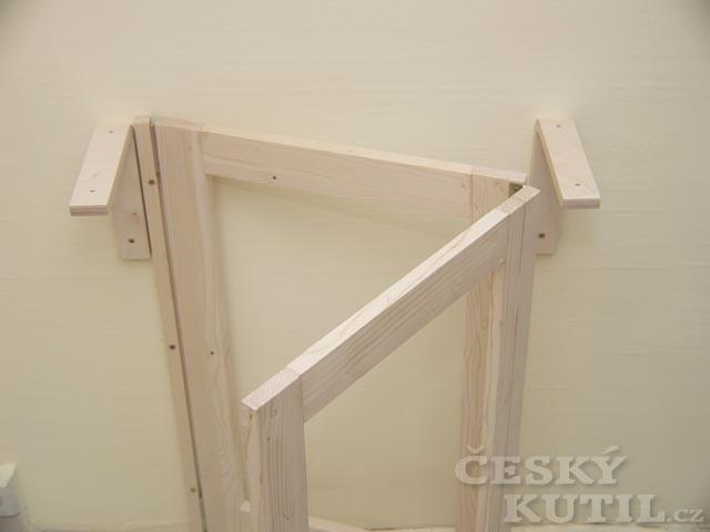 Jak vyrobit sklopný stolek?