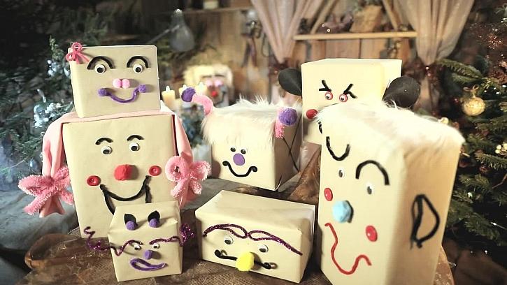 Jak vychytaně a zábavně na balení dárků
