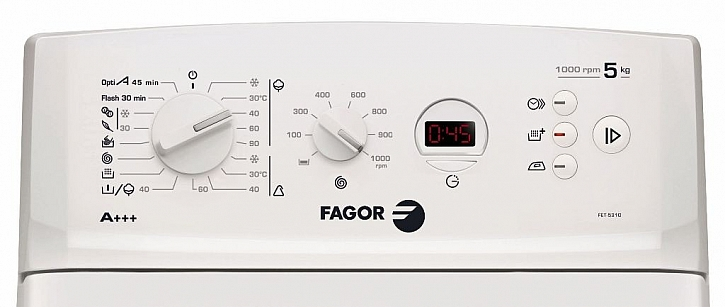 Pračka Fagor FET 5310, která šetří čas i peníze