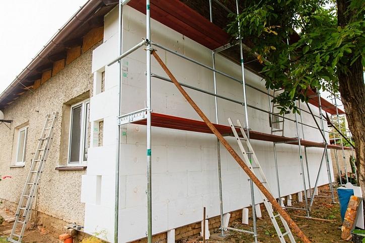Zateplování a obkládání stávajícího zdiva se obejde bez stavebního povolení, pouze s ohlášením