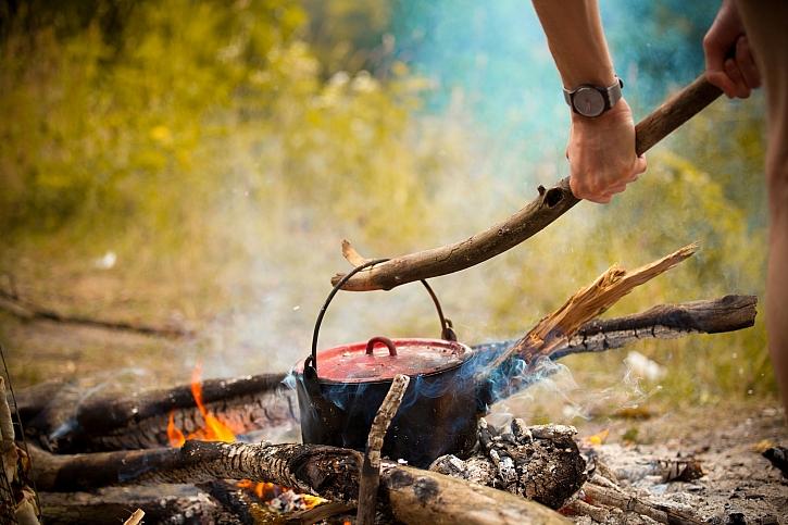 Káva na ohni
