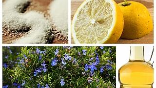 Jde to i bez chemie aneb Sčím vám doma pomůže sůl, citron, ocet apřekvapivě irozmarýn