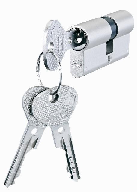 FAB klíče a vložka