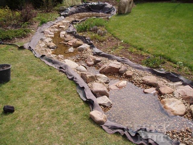 Stavba a rekonstrukce umělého potoka – 2. díl