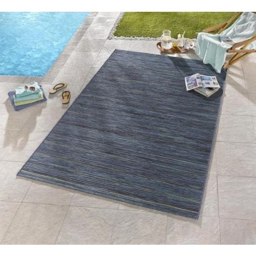 Bougari - Hanse Home koberce Venkovní kusový koberec Lotus Blau Meliert - 200x290 cm Modrá
