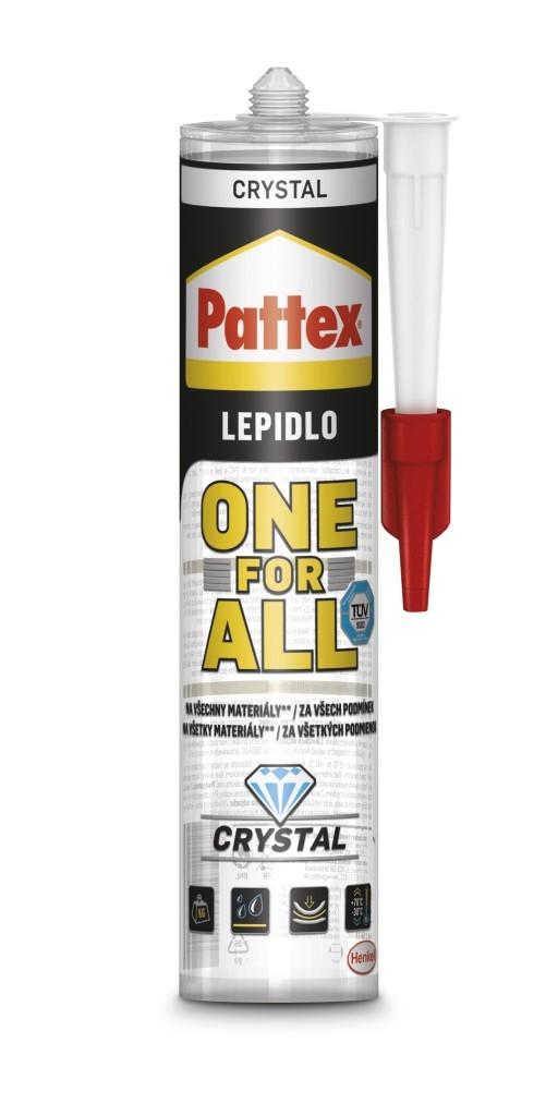 Lepidlo Pattex ONE FOR ALL CRYSTAL - vlastnosti